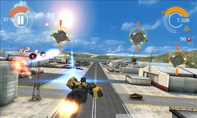 アイアンマン3 - 公式ゲーム プレイ画面4