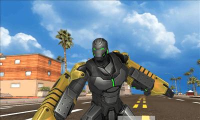 アイアンマン3 - 公式ゲーム プレイ開始アニメーション画面