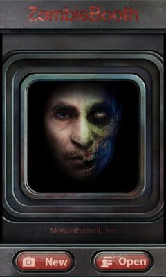 エンターテイメント系Android無料アプリケーション:ZombieBooth