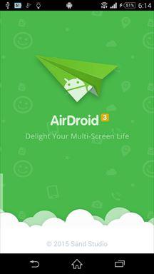 ツール系Android無料アプリケーション:AirDroid-スマホのデータやファイルをPCで管理ツール