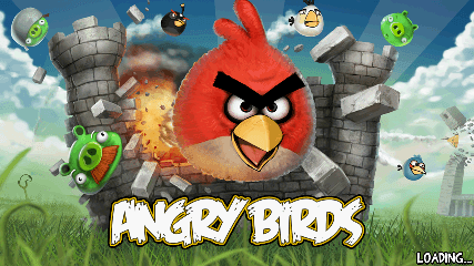Angry Birds 起動画面