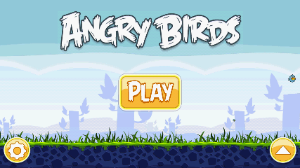 Angry Birds 起動画面2