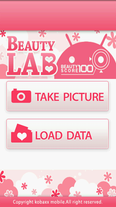 エンターテイメント系Android無料アプリケーション:BeautyLab