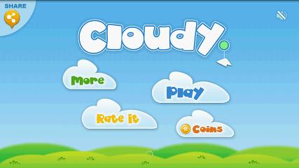 Cloudy 起動画面
