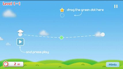 Cloudy プレイ初期画面