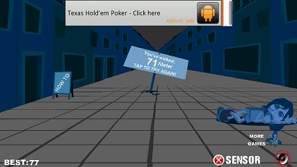 酔っ払い ゲームオーバー画面