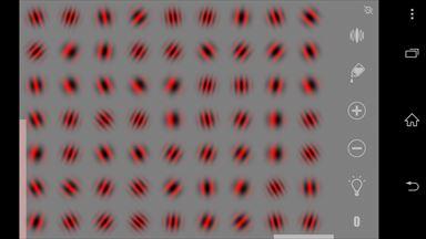 視力回復地獄 色変更画面