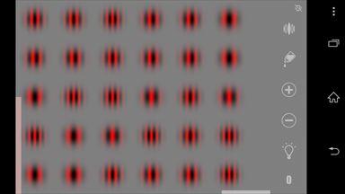 視力回復地獄 サイズ変更画面