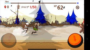 ファンタジーxランナーズ (FANTASYxRUNNERS) ゲーム画面