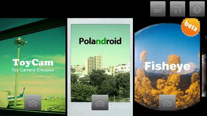 カメラ系Android無料アプリケーション:FxCamera
