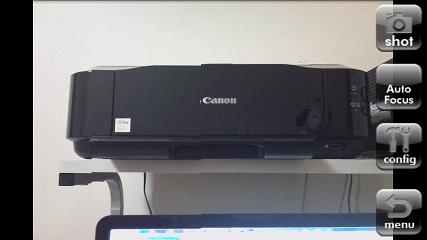 FxCamera ファインダー画面