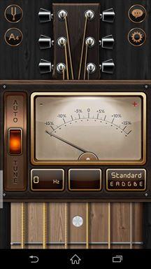 ギターチューナー チューニング画面