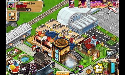 ジャパンライフ ランダム町画面