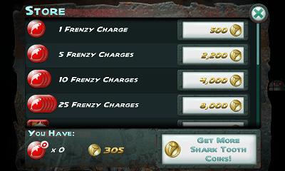 Jaws Revenge STORE画面1