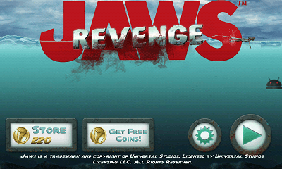 Jaws Revenge メニュー画面