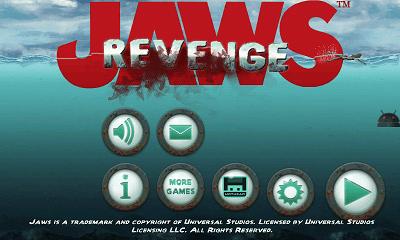 Jaws Revenge 設定画面