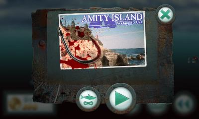 Jaws Revenge プレイモード選択画面
