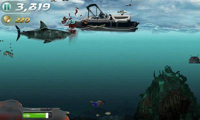 Jaws Revenge プレイ画面