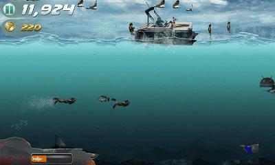 Jaws Revenge 潜水画面