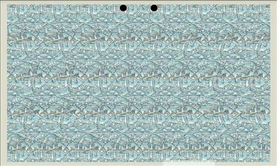視力回復マジックアイ 平行法画面