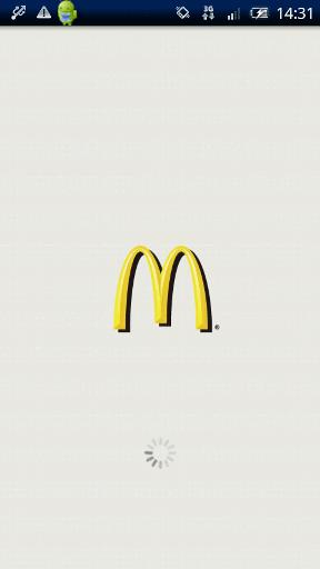グルメ系Android無料アプリケーション:マクドナルド公式アプリ