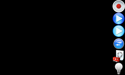 ウバ 無音 ビデオカメラ Free (ウィジェット機能有り) ファインダー画面
