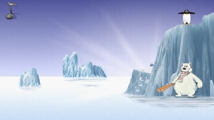 ペンギン打ち 起動画面