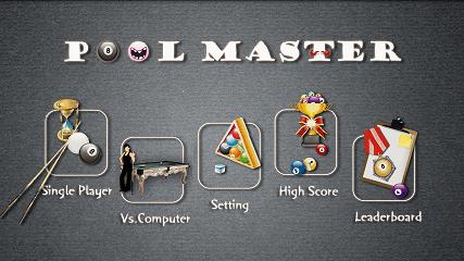 スポーツ系Android無料ゲーム:Pool Master Pro ビリヤード