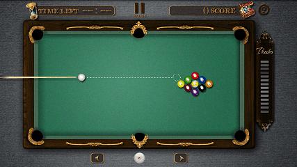 Pool Master Pro ビリヤード 9ボールプレイ開始画面