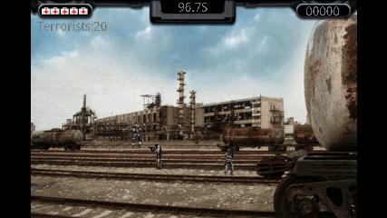 Sniper (スナイパー) プレイ中画面