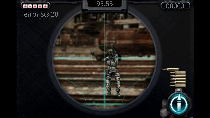 Sniper (スナイパー) 狙撃画面