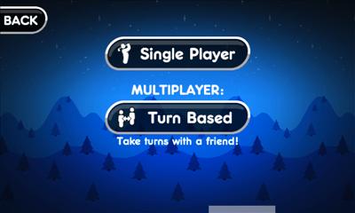 Super Stickman Golf 2 プレイモード選択画面