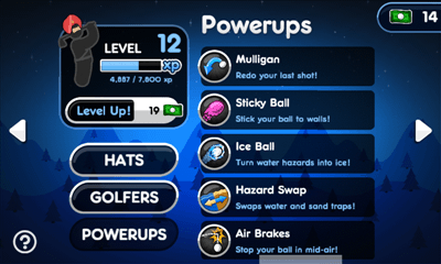 Super Stickman Golf 2 プレイヤー情報画面3