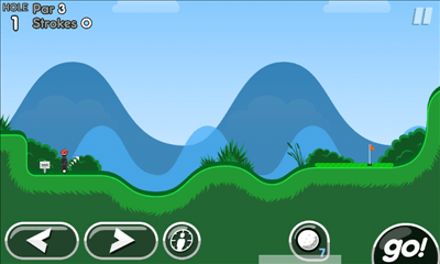 Super Stickman Golf 2 プレイ画面1