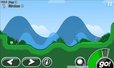 Super Stickman Golf 2 プレイ画面2