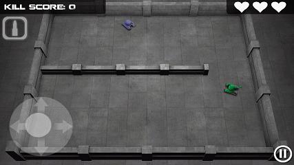 Tank Hero プレイ画面1
