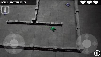 Tank Hero プレイ画面2