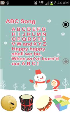 Tap童謡 英語版画面