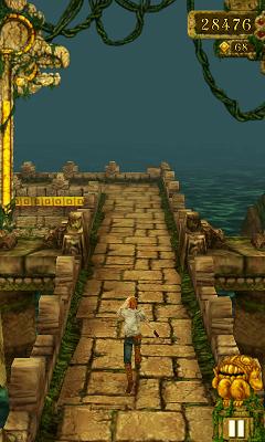Temple Run プレイ画面2