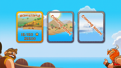 ハッピーバイキング無料 ステージ選択画面1